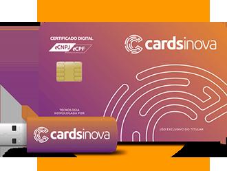Cartão Certificado